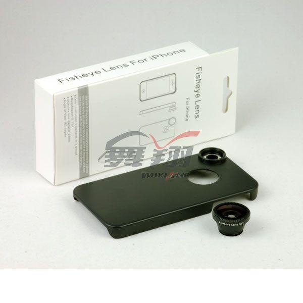 ชุดเลนส์ฟิชอาย Fish eye lense for iPhone4/4s [Pre-Order]