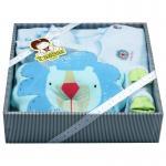 [สีฟ้า] ชุดของขวัญเสื้อผ้า 5 ชิ้น(เด็กแรกเกิด 0-6 เดือน) TomTom joyful
