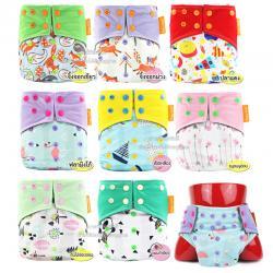 Happy fulte กางเกงผ้าอ้อมถ่านเยื่อไผ่ (สำหรับเด็กที่มีน้ำหนัก 3-15 กก.)