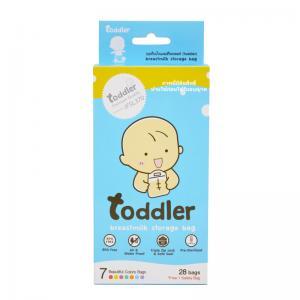 [กล่องเดี่ยว] ถุงเก็บน้ำนมแม่ Toddler 7 สี (Premium Quality )