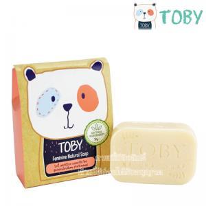 Toby สบู่สำหรับผู้หญิง สูตรคุณแม่หลังคลอด Feminine Natural Soap 80g.