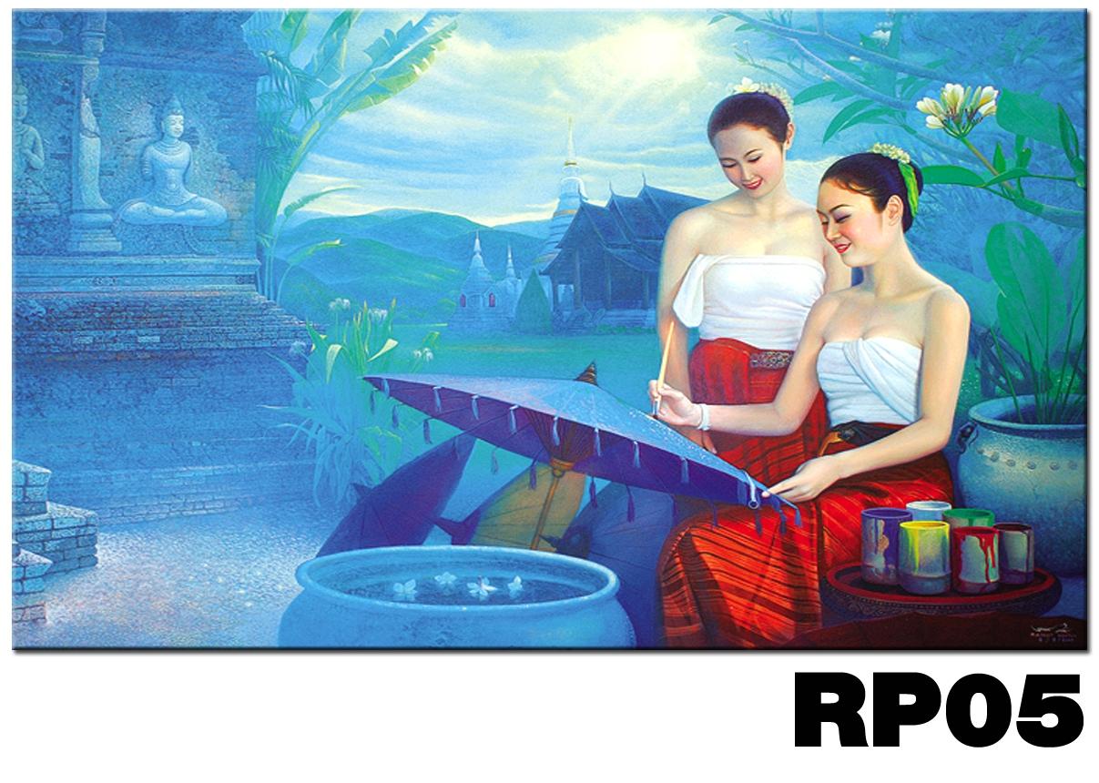 ภาพสำหรับประดับตกแต่งบ้าน ร้านสปา คอนโด โรงแรม รีสอร์ท RP - 05