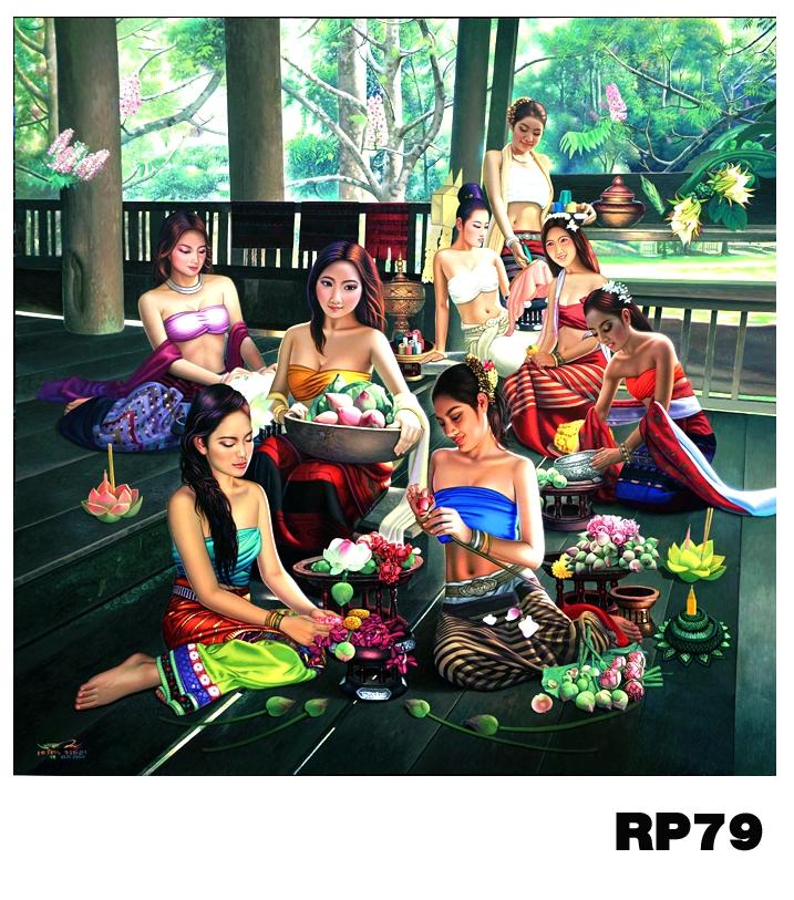 ภาพสำหรับประดับตกแต่งบ้าน ร้านสปา คอนโด โรงแรม รีสอร์ท RP - 79
