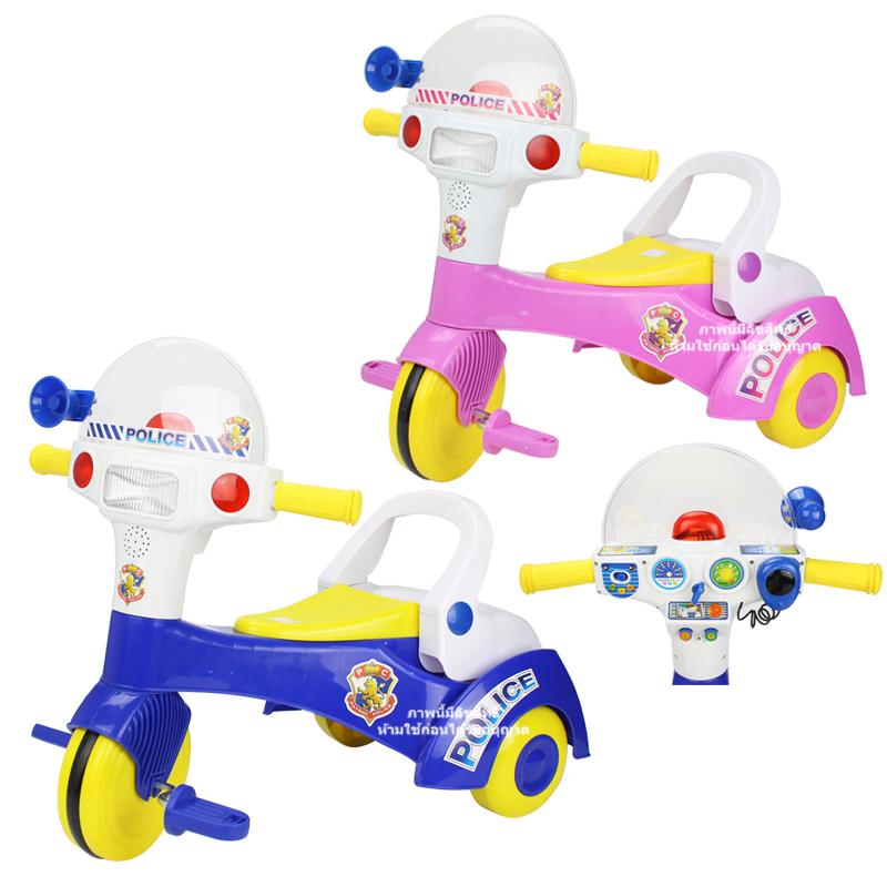 จักรยานสามล้อตำรวจ Music and light