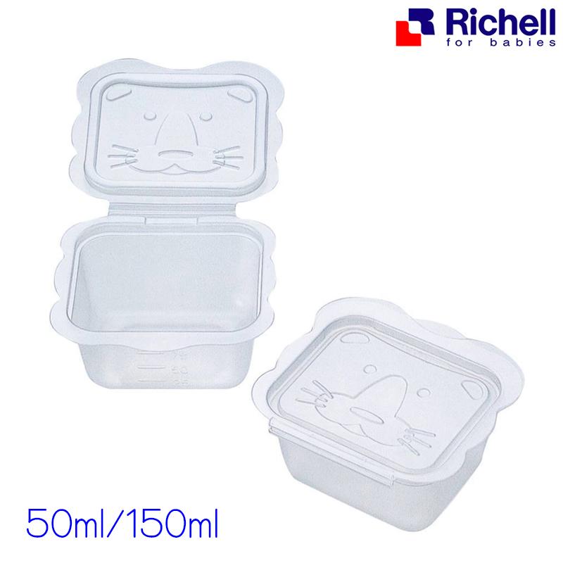 กล่องแช่แข็งถนอมอาหารรูปสิงโต Richell Shaped Container