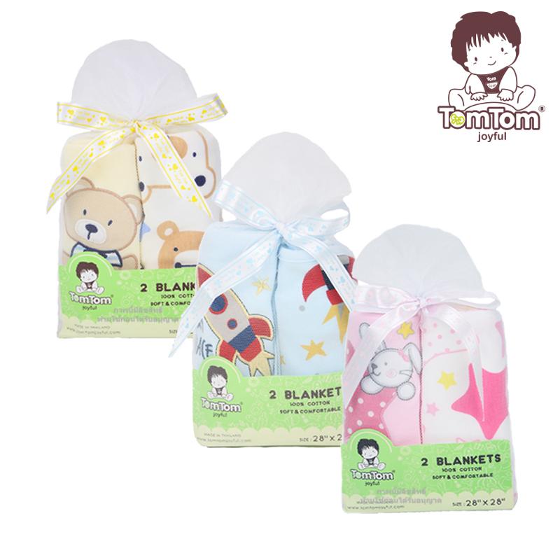 ผ้าห่มเด็กแรกเกิด TomTom joyful
