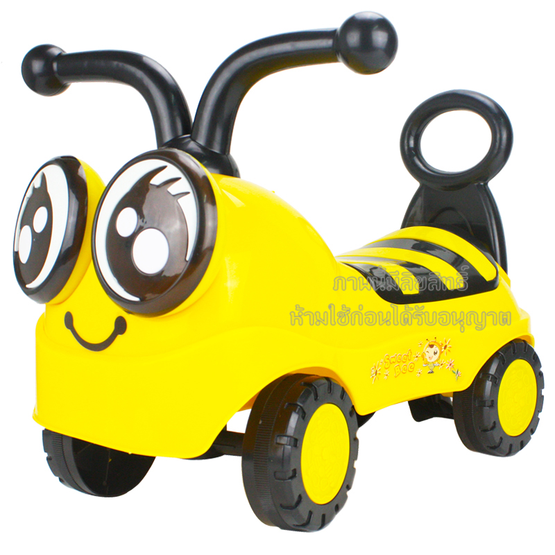 รถขาไถผึ้งน้อย มีเสียงดนตรี