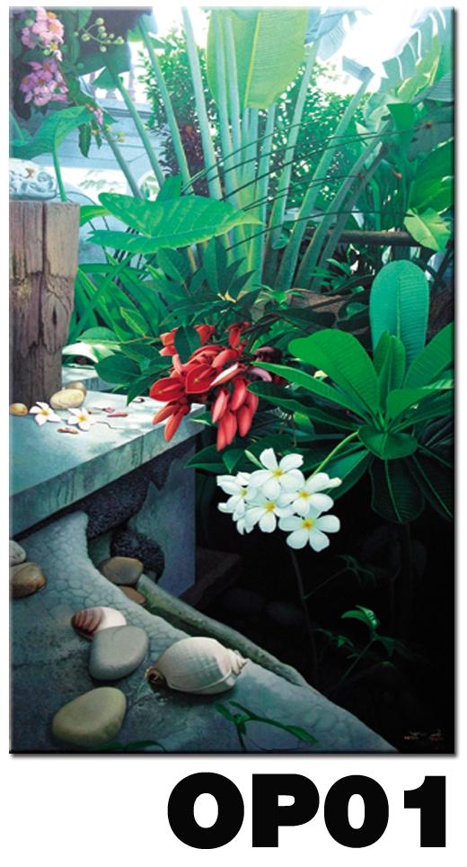ภาพสำหรับประดับตกแต่งบ้าน ร้านสปา คอนโด โรงแรม รีสอร์ท OP - 01