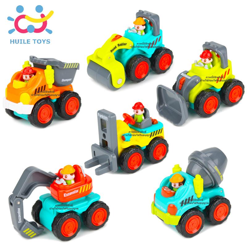 รถก่อสร้างจิ๋ว Huile Pocket Trucks