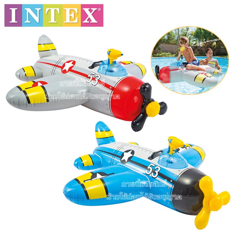 Intex แพเครื่องบินเป่าลมฉีดน้ำได้ [Intex-57537]