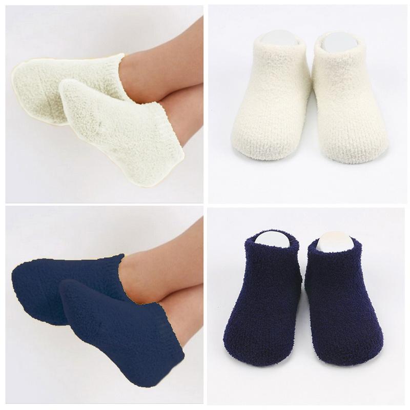KID'S Socks ถุงเท้าเด็กข้อสั้นขนปุย