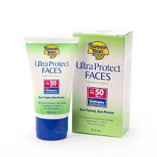 Banana Boat Ultra Protect Face Sunscreen Lotion SPF50 PA+++ 60 ml