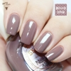 (APR04 Blasting Brown) Skinfood Nail Vita Alpha ชุด (Mellow Brownie)