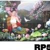ภาพวาดแนวจริยศิลป์ล้านนา พิมพ์ลงผ้าใบ รหัสสินค้า RP - 50