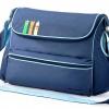 [สีน้ำเงิน] กระเป๋าสัมภาระคุณแม่ สัตว์3เกลอ Baby Kingdom