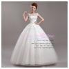 wm5036 ขาย ชุดแต่งงาน ราคาถูก แขนกุด ชุดแต่งงานสีขาว ซีทรู สวย หรู