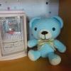 หมีผูกโบว์ 7 นิ้ว