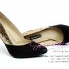 X-005 ขายรองเท้าเจ้าสาว รองเท้าแต่งงาน สวยหรู ดูดีราคาถูกกว่าเช่า สีทอง-ดำ