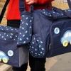 กระเป๋าสัมภาระคุณแม่ ลายรถ สีน้ำเงิน