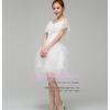 ws5031 ขาย ชุดแต่งงานสั้น ชุดลูกไม้สีขาว สวยหวานน่ารักสไตล์เกาหลี ราคาถูกกว่าเช่า