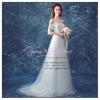 wm5119 ขาย ชุดแต่งงาน เจ้าหญิงเรียบหรู เปิดไหล่ เอวสูง ใส่ถ่ายพรีเวดดิ้ง สวยหรู ดูดีที่สุดในโลก ราคาถูกกว่าเช่า