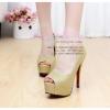 X-004 ขายรองเท้าเจ้าสาว รองเท้าแต่งงาน สวยหรู ดูดีราคาถูกกว่าเช่า สีทอง