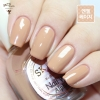 (ABR03 Angel Beige) Skinfood Nail Vita Alpha ชุด (Mellow Brownie)