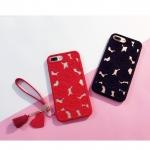 เคสมือถือ iPhone7Plus-เคสซิลิโคนแกะสลักดอกกุหลาบ [Pre-Order]