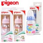 [120ml/4oz] Pigeon ขวดนมพร้อมจุกเสมือนนมมารดา RPP