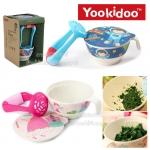 Yookidoo ชุดชามบดอาหารเด็กเยื่อไผ่ 300มล. Banboo Fibre