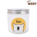 Baby Moby กระปุกพลาสติกใส่สำลี
