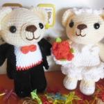 ตุ๊กตาคู่แต่งงาน 6- 7 นิ้ว