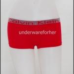 ชุดชั้นในผู้หญิง CK BOXER สีแดง