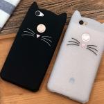 เคสมือถือ Huawei huawei nova 2-เคสซิลิิโคนแมว [Pre-Order]