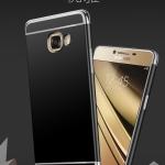 เคสมือถือ Samsung C5 pro เคสซิโคนขอบสี [Pre-Order]