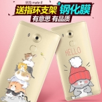เคสมือถือ Huawei Mate8 - GView เคสใสนิ่ม พิมพ์ลายการ์ตูน [Pre-Order]