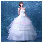 wm5099 ขาย ชุดแต่งงาน เจ้าหญิง ใส่ถ่ายพรีเวดดิ้ง สวยหรู ดูดีที่สุดในโลก ราคาถูกกว่าเช่า