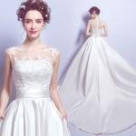 wm5066 ขาย ชุดแต่งงานเจ้าหญิง แบน่ารัก สวยที่สุดในโลก ราคาถูกกว่าเช่า