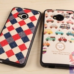 HTC (The New) One M7 - Cartoon Hard case [Pre-Order]