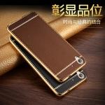 เคสมือถือ Huawei Y6II - เคสนิ่มขอบทอง ลายหนังสุดหรู[Pre-Order]