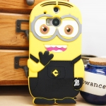 เคส HTC One2 (M8) - Minion silicone case [Pre-Order]