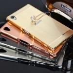 เคส Sony Xperia Z5 premuim-เคสขอบโลหะฝาหลัง [Pre-Order]