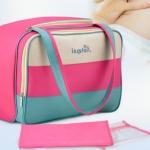 กระเป๋าสัมภาระคุณแม่ สีรุ้ง ขนาดใหญ่ Insula