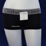 ชุดชั้นในผู้หญิง CALVIN KLEIN BOXER สีดำ