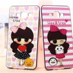 เคส Samsung Galaxy A5 - Cartoon Silicone Case [Pre-Order]