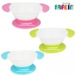ชามข้าวเด็กแบบก้นหนืด Farlin Magic Feeding Mates 360