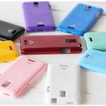 HTC J z321e -Murcury Hard case+Film [Pre-Order]