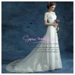wm5061 ชุดแต่งงานแนวเจ้าหญิง วินเทจ สวย หวาน หรู ดูดีที่สุดในโลก