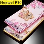 เคสมือถือ Huawei P10 Plus เคสTPU พิมพ์ลายดอกไม้ฟรุ้งฟริ้ง (พรีออเดอร์)