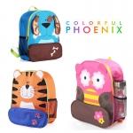 กระเป๋าเป้หลัง ลายสัตว์ Colorful Phoenix